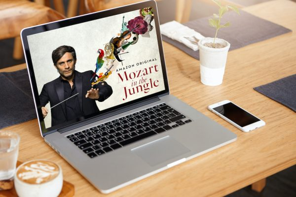 Binge watcher Mozart in the jungle
